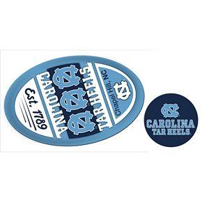 North Carolina Tar Heels Game Day Decal Set