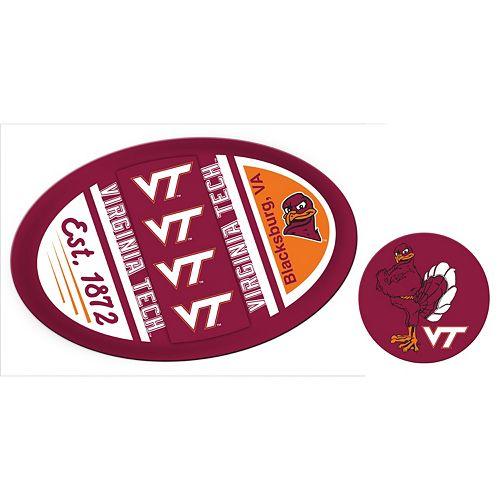 Virginia Tech Hokies Game Day Decal Set