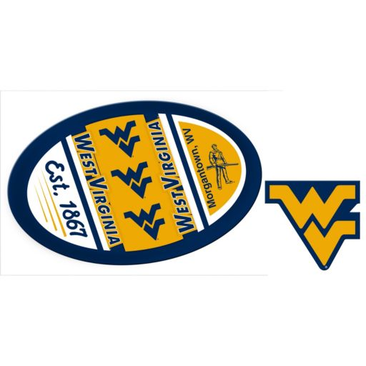 West Virginia Mountaineers Game Day Decal Set
