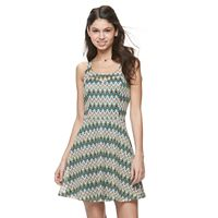 Juniors' Candie's® Chevron Skater Dress