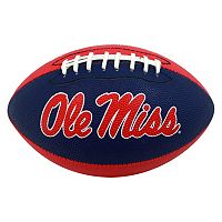 Baden Ole Miss Rebels Junior Size Grip Tech Football
