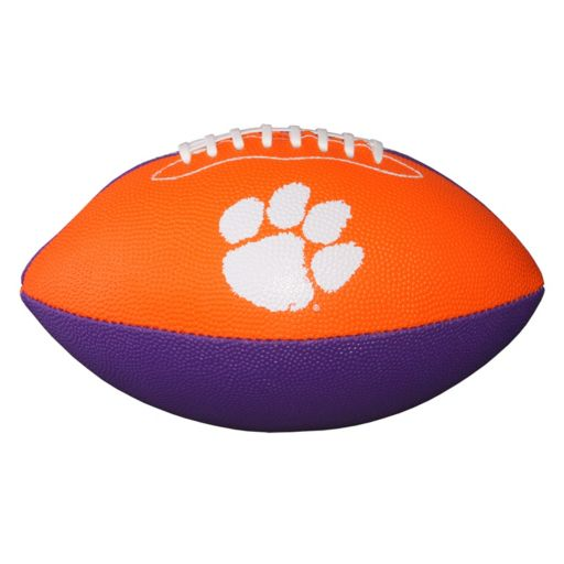 Baden Clemson Tigers Junior Size Grip Tech Football