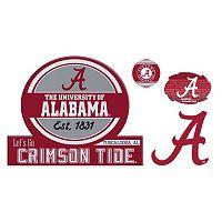 Alabama Crimson Tide Game Day 4 pc Magnet Set
