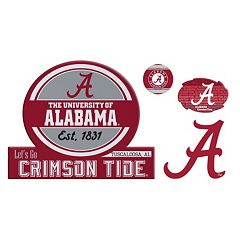 Alabama Crimson Tide Game Day 4-Piece Magnet Set