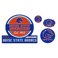 Boise State Broncos Game Day 4 pc Magnet Set