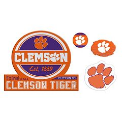 Clemson Tigers Game Day 4-Piece Magnet Set