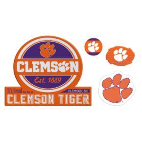 Clemson Tigers Game Day 4-Piece Magnet Set