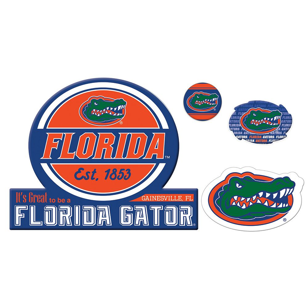 Florida Gators Game Day 4-Piece Magnet Set
