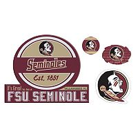 Florida State Seminoles Game Day 4-Piece Magnet Set