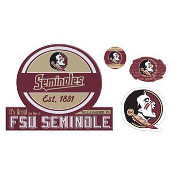 Florida State Seminoles Game Day 4-Piece Magnet Set