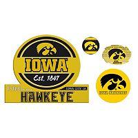 Iowa Hawkeyes Game Day 4 pc Magnet Set