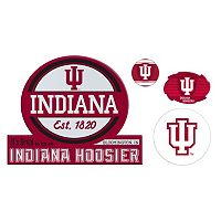 Indiana Hoosiers Game Day 4-Piece Magnet Set
