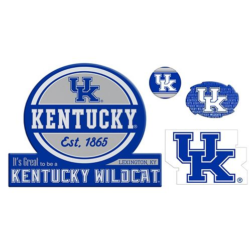 Kentucky Wildcats Game Day 4-Piece Magnet Set
