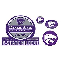 Kansas State Wildcats Game Day 4-Piece Magnet Set