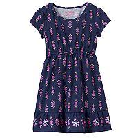 Toddler Girl Jumping Beans® Foil Print Dress