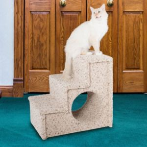 Paus Carpeted 3-Step Pet Stairs