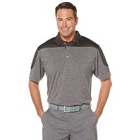 Men's Grand Slam Classic-Fit Heathered Motionflow Performance Golf Polo