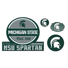 Michigan State Spartans Game Day 4 pc Magnet Set