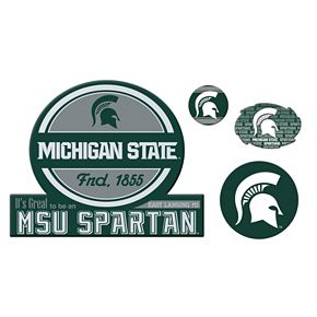Michigan State Spartans Game Day 4-Piece Magnet Set