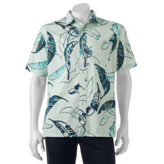 Big & Tall Croft & Barrow® Classic-Fit Tropical Button-Down Shirt