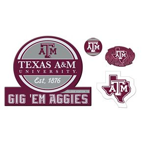 Texas A&M Aggies Game Day 4-Piece Magnet Set