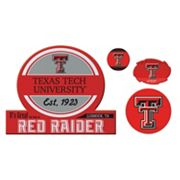 Texas Tech Red Raiders Game Day 4 pc Magnet Set