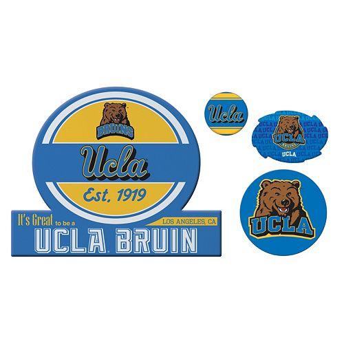 UCLA Bruins Game Day 4-Piece Magnet Set