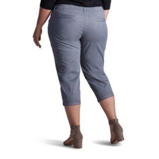 Plus Size Lee Chino Crop Pants