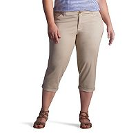 Plus Size Lee Chino Crop Pants