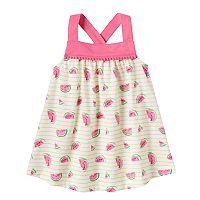 Baby Girl Jumping Beans® Print Pom Swing Tank Top