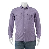 Big & Tall Apt. 9® Classic-Fit Crosshatch Roll-Tab Button-Down Shirt