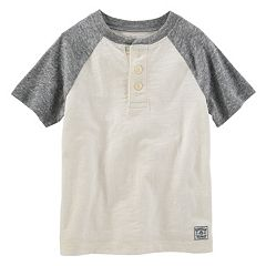 Boys 4-8 OshKosh B'gosh® Slubbed Henley Tee