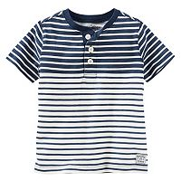 Toddler Boys OshKosh B'gosh® Slubbed Henley Tee