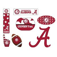 Alabama Crimson Tide Tailgate 6 pc Magnet Set