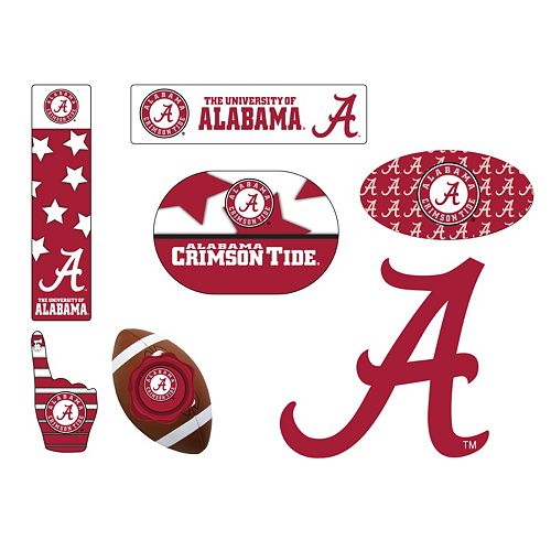 Alabama Crimson Tide Tailgate 6-Piece Magnet Set