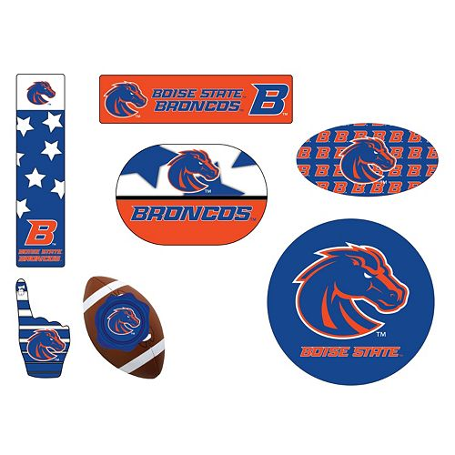 Boise State Broncos Tailgate 6-Piece Magnet Set