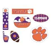 Clemson Tigers Tailgate 6 pc Magnet Set