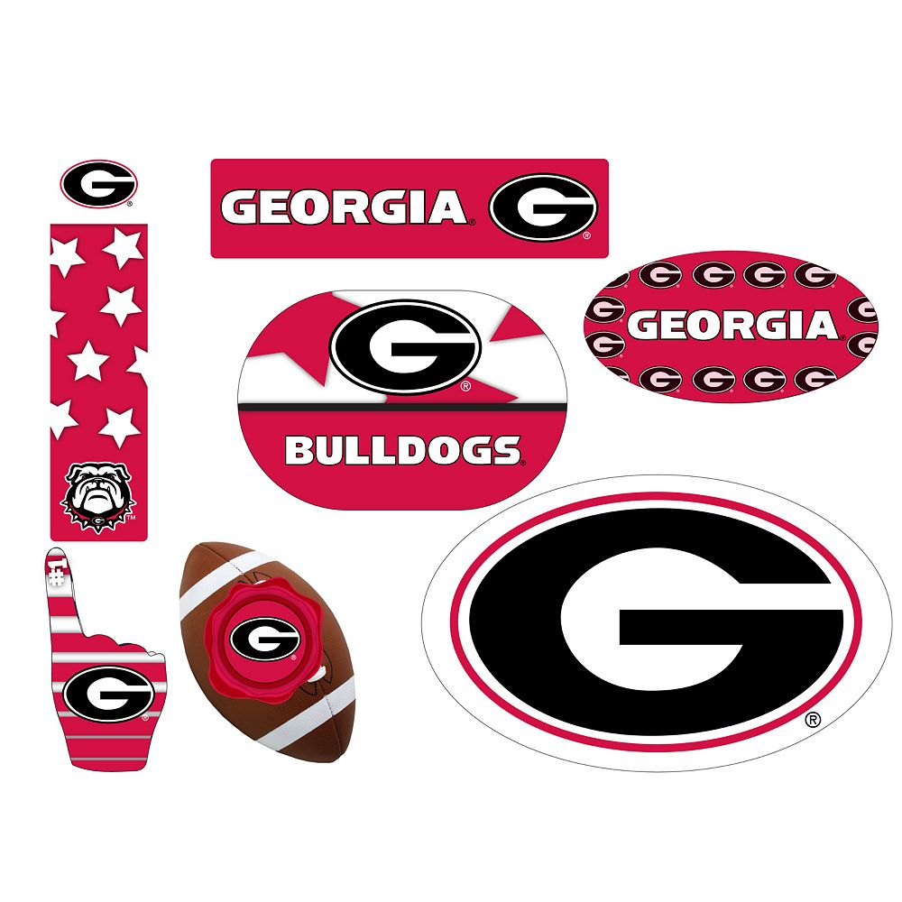 Georgia Bulldogs Tailgate 6-Piece Magnet Set
