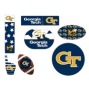 Georgia Tech Yellow Jackets Tailgate 6-Piece Magnet Set