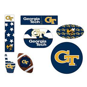 Georgia Tech Yellow Jackets Tailgate 6-Piece Magnet Set