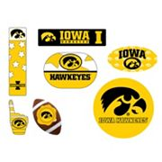 Iowa Hawkeyes Tailgate 6 pc Magnet Set