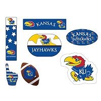 Kansas Jayhawks Tailgate 6 pc Magnet Set