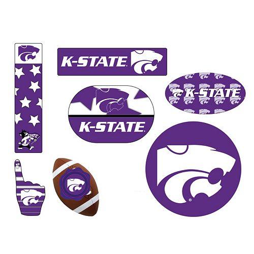 Kansas State Wildcats Tailgate 6-Piece Magnet Set