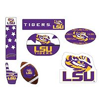LSU Tigers Tailgate 6 pc Magnet Set