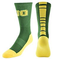 Women's Mojo Oregon Ducks Champ 1/2-Cushion Performance Crew Socks