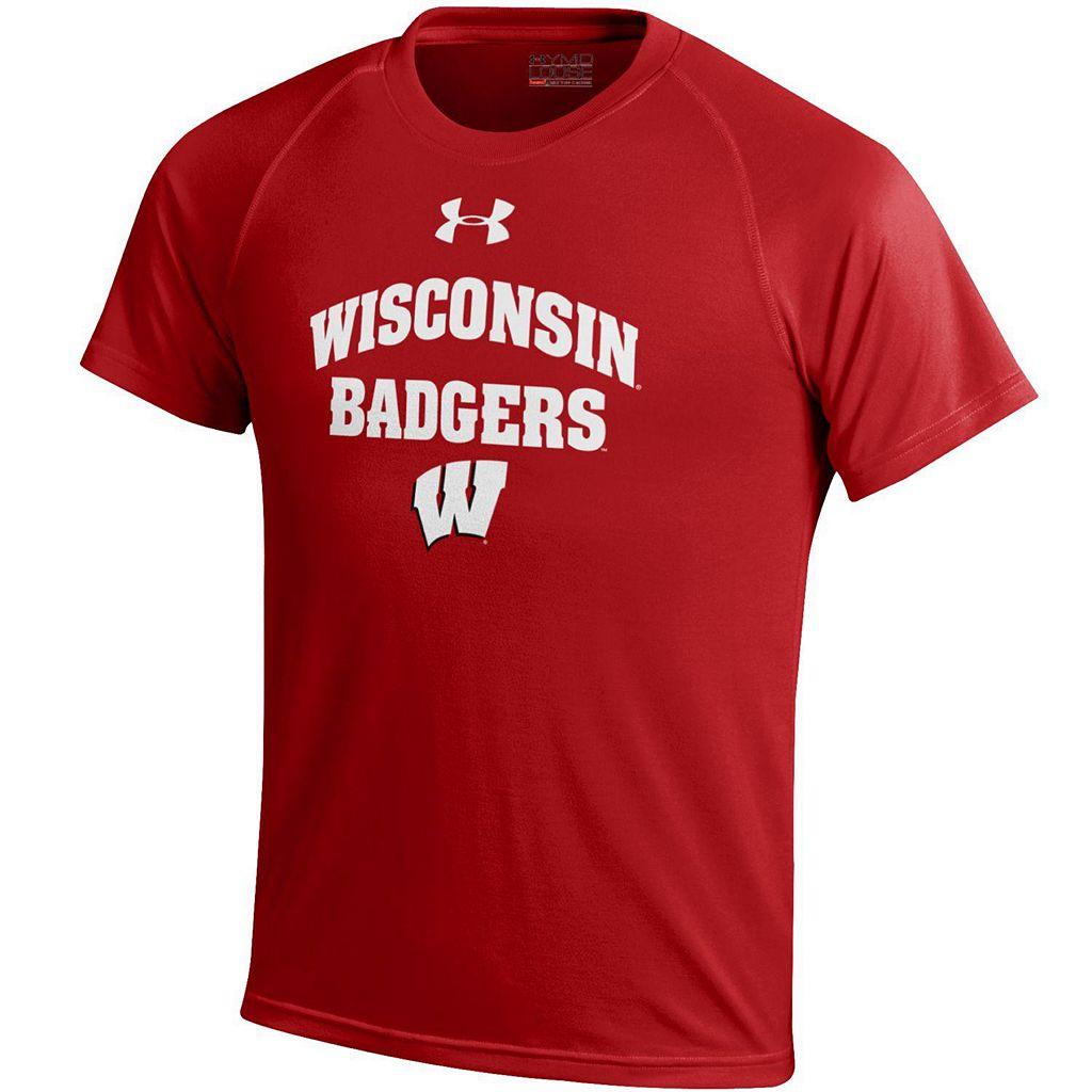 Boys 8-20 Under Armour Wisconsin Badgers Tech Tee
