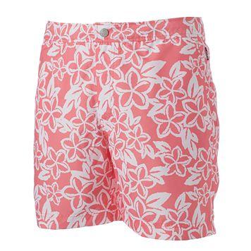 Men's Cole Slim-Fit Floral Hybrid Swim Shorts