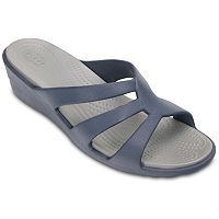 Crocs Sanrah Women's Strappy Wedge Sandals