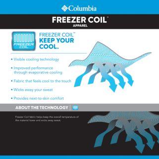 Men's Columbia Cool Coil Classic-Fit Quarter-Zip Polo