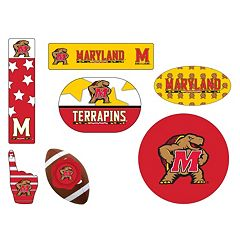 Maryland Terrapins Tailgate 6 pc Magnet Set